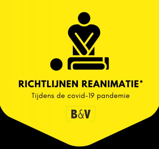 Richtlijnen reanimatie tijdens de corona pandemie